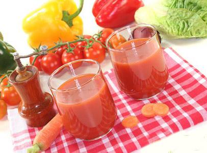 Какие овощные соки способствуют