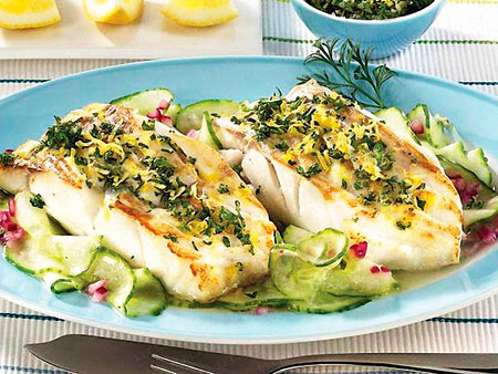 диетические блюда из рыбы рецепт