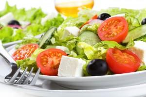 праздничный легкий салат