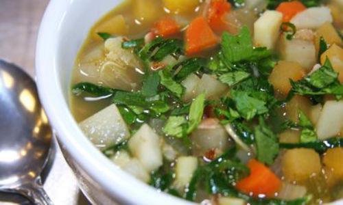 сельдереевый суп простой рецепт