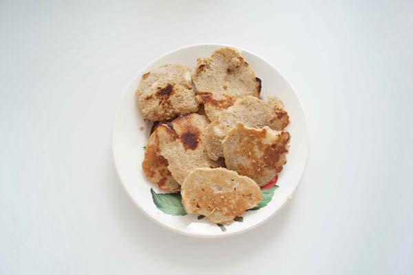 диетические овсяные оладьи рецепт