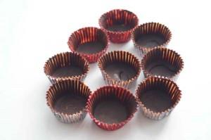 формочки в шоколаде