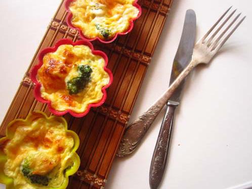 брокколи запеченная с сыром в духовке