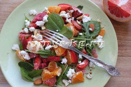 как приготовить фруктовый салат, рецепт
