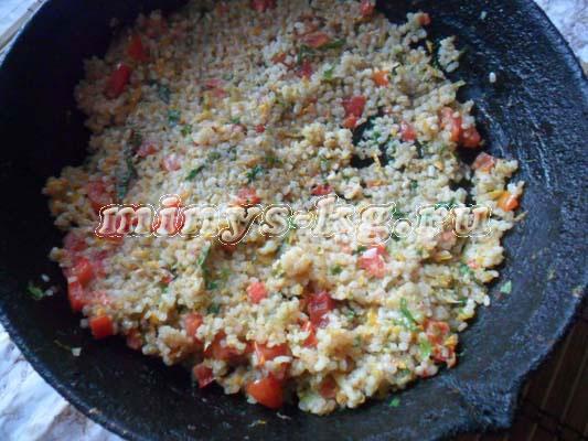 рис с кабачками