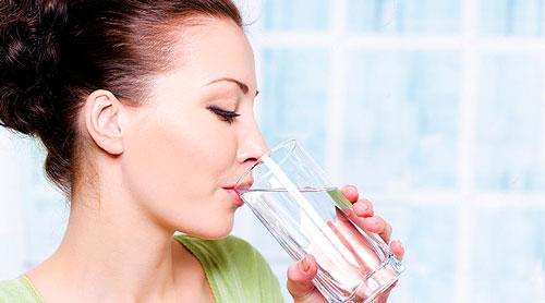 режим питьевой диеты