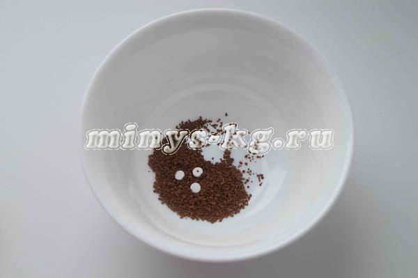 кофе с сахарозаменителем
