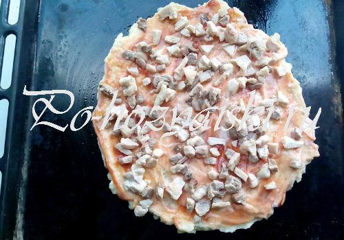готовим пиццу из картофеля