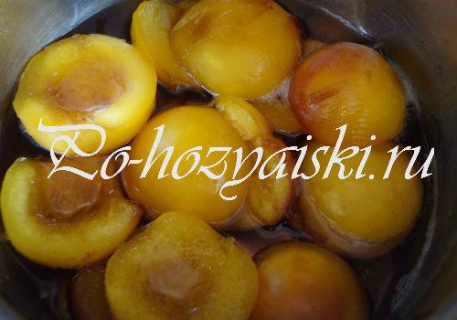 готовое варенье из персиков на зиму