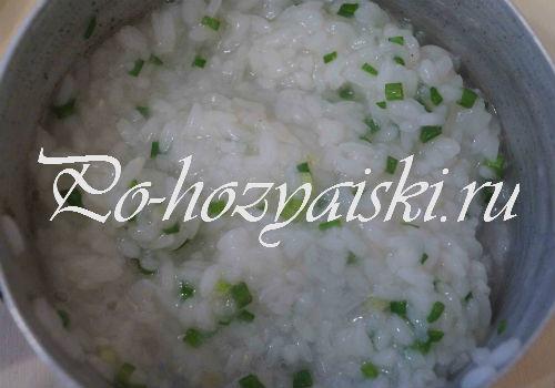 рисовая начинка