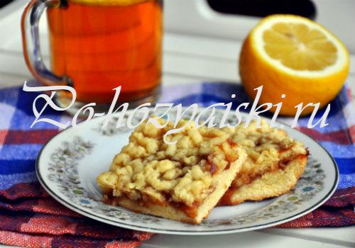 венское печенье с вареньем