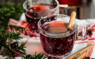 Безалкогольный глинтвейн — рецепт приготовления в домашних условиях