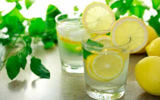 Сода с лимоном для похудения