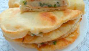 Как готовить кыстыбый с картошкой, вкусные татарские лепешки