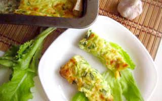 Диетическая запеканка из кабачков с сыром