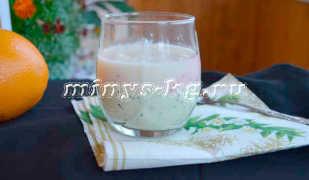 Смузи с йогуртом из киви, клубники и дыни для похудения