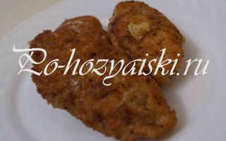 Как приготовить куриные котлеты с начинкой из сыра и риса