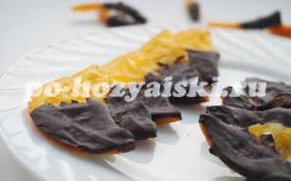 Как приготовить карамелизированные апельсины в шоколаде, рецепт