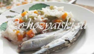 Мойва тушеная на сковороде с овощами — рецепт с фото пошагово