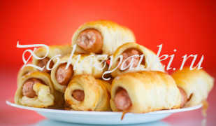 Сосиски в тесте в мультиварке — рецепты приготовления с фото