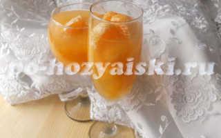 Желе из мандаринов, вкусный и полезный десерт