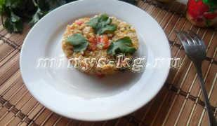 Кабачки тушеные с рисом на гарнир, диетический рецепт с фото