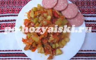 Рецепт овощного рагу с баклажанами и кабачками в мультиварке