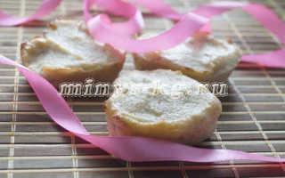 Как приготовить диетические творожные кексы с бананом в силиконовых формочках