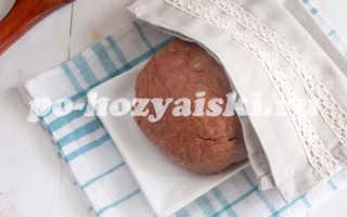 Шоколадное слоеное тесто для торта
