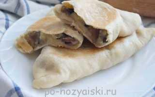 Пирожки в мультиварке с картошкой и грибами на быстром дрожжевом тесте