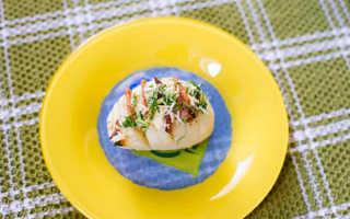 Ароматная картошка-гармошка с беконом