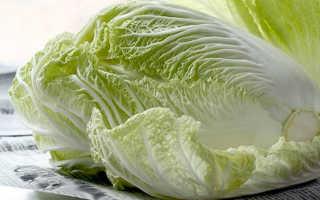 Какова калорийность пекинской капусты