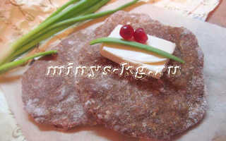 Как приготовить диетические хлебцы с кунжутом и отрубями