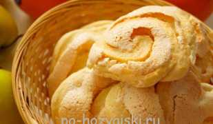 Печенье «Розочки» с безе