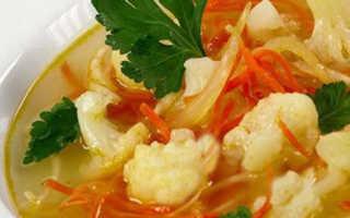 Рецепты приготовления жиросжигающих супов