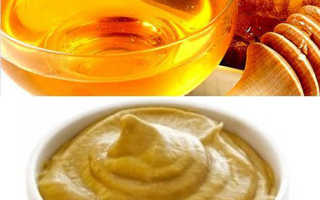 Рецепт обертывания из горчицы  с медом для похудения