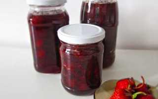 Как приготовить клубничное варенье с целыми ягодами
