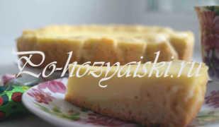 Рецепт творожного пирога в мультиварке — с фото пошагово