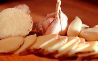 Как употреблять имбирь с чесноком для похудения