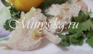 Куриное филе диетическое, запеченное в духовке