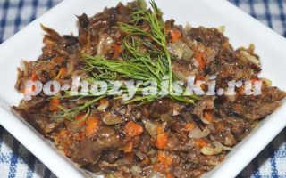 Грибная икра из сушеных грибов, отличная закуска для любого повода