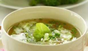 Капустный суп для похудения, вкусно и полезно