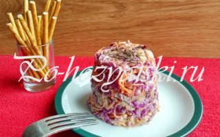 Капустный салат Коул Слоу — классический рецепт с фото