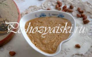 Как сделать арахисовое масло в домашних условиях — рецепт с фото