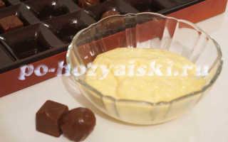Заварной крем с сыром Маскарпоне