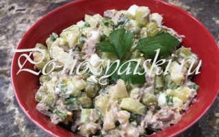 Диетический оливье с огурцами — рецепты для худеющих