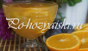 Заготовка варенья из дыни с апельсинами на зиму — рецепты с фото