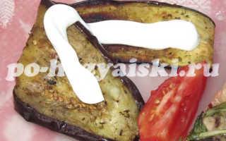 Как приготовить баклажаны на мангале
