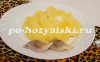Готовим пюре из картофеля с тыквой на гарнир
