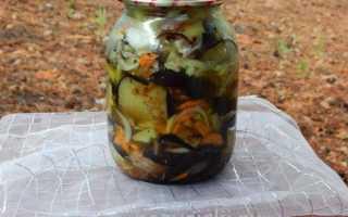 Салат из баклажанов на зиму с болгарским перцем